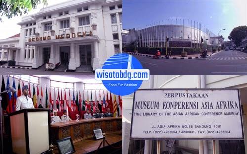 Museum Kaa Memorabilia Konferensi Asia Afrika Wisata Bandung Gedung Menjadi