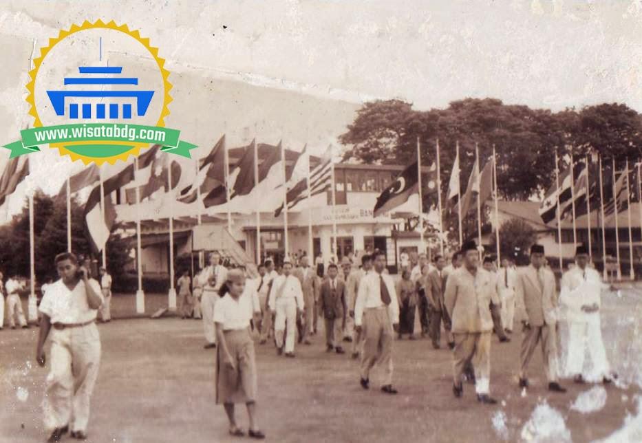 Sambutan Masyarakat Bandung Konferensi Asia Afrika 1955 Foto Koleksi Wisatabdg