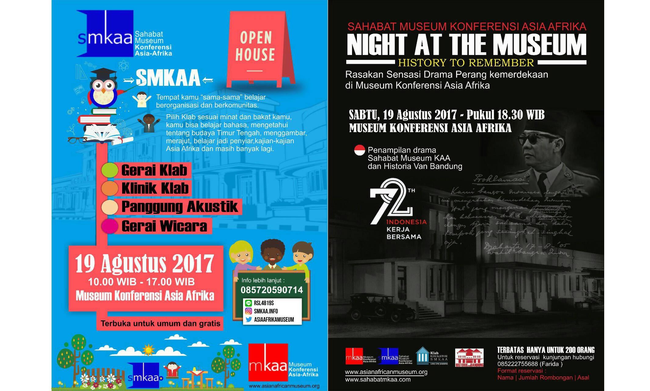Smkaa Gelar Open House Sabtu Mendatang Museum Konferensi Asia Afrika