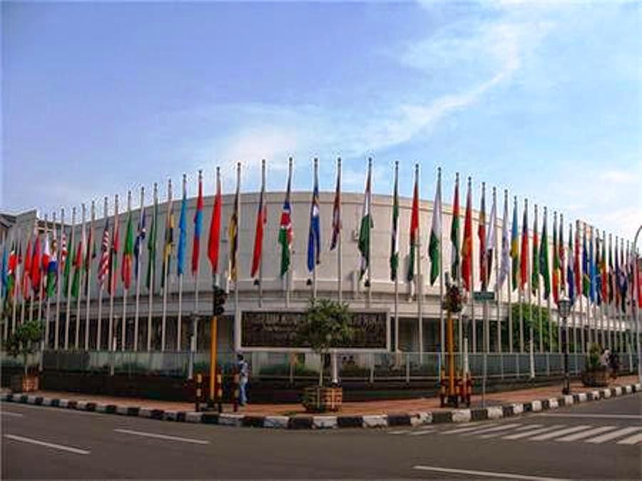 Wiyak Bumi Langit Museum Konferensi Asia Afrika Berhubungan 1955 Benda