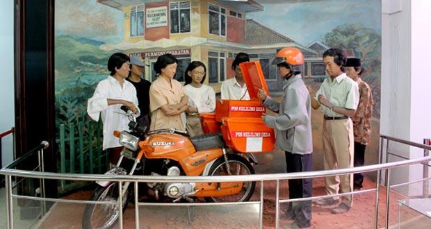 Inilah 50 Tempat Wisata Menarik Bandung Terkenal Museum Pos Indonesia
