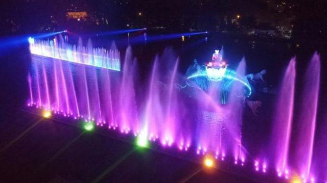 Air Mancur Sri Baduga 3 Museum Purwakarta Diresmikan Bulan Februari