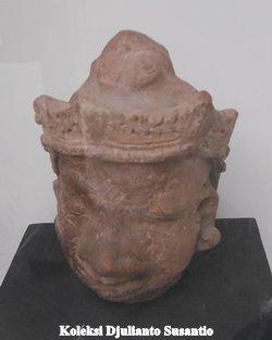 Jejak Batujaya Tiga Museum Majalah Arkeologi Indonesia Arca Kepala Koleksi