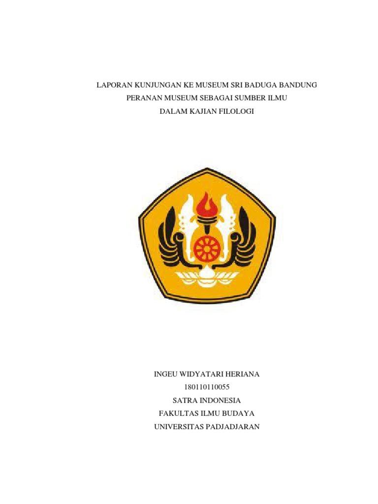 Laporan Kunjungan Museum Sri Baduga Bandung Documents Musium Kab