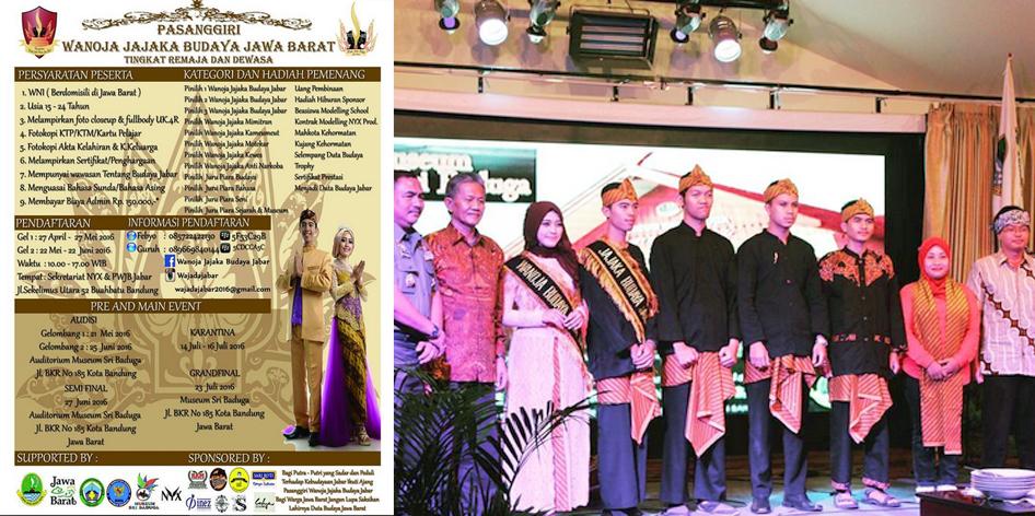 Pasanggiri Wanoja Jajaka Budaya Jawa Barat 2016 Museum Sri Baduga