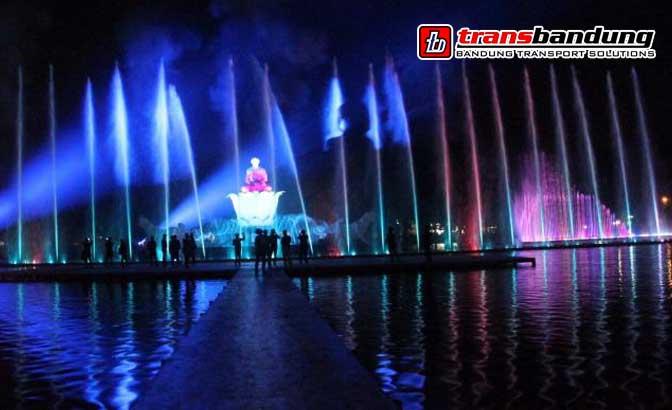 Wisata Air Mancur Taman Sri Baduga Purwakarta Aneka Ragam Jawa
