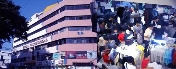 Parahyangan Plaza Pusat Kaos Distro Bandung Wisatabdg Sebuah Gedung Seberang