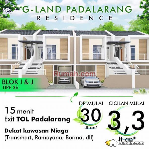 Rumah Minimalis Dp 30 Juta Dekat Tol Kota Design Gland