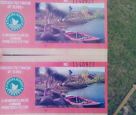 Fasilitas Harga Tiket Masuk Floating Market Lembang Wisata Pasar Apung