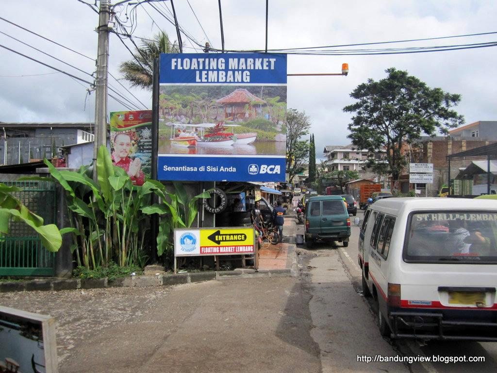 Floating Market Lembang Abigail Rental Gerbang Masuk Pasar Apung Kab