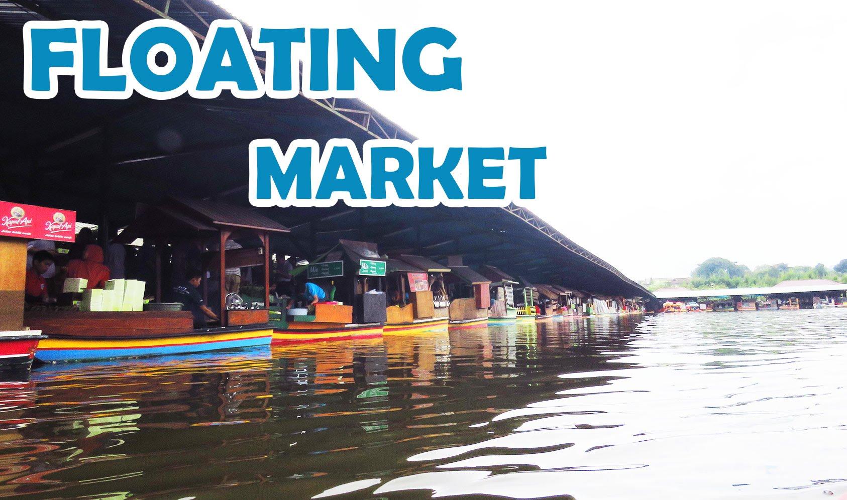 Floating Market Lembang Bandung Full Hd Video Youtube Pasar Apung