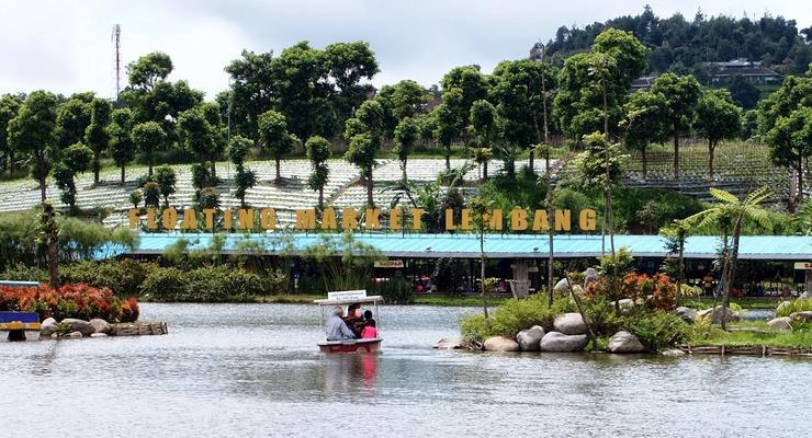 Floating Market Lembang Bandung Harga Tiket Masuk Wahana Fasilitas Pasar