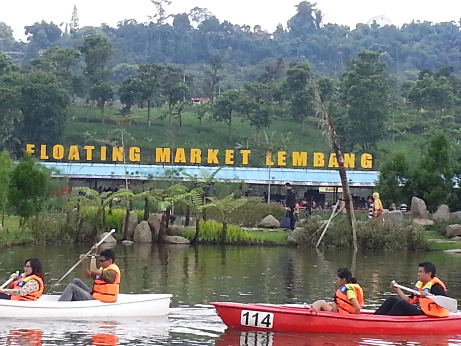 Floating Market Lembang Bandung Mediamedia Pasar Apung Kab