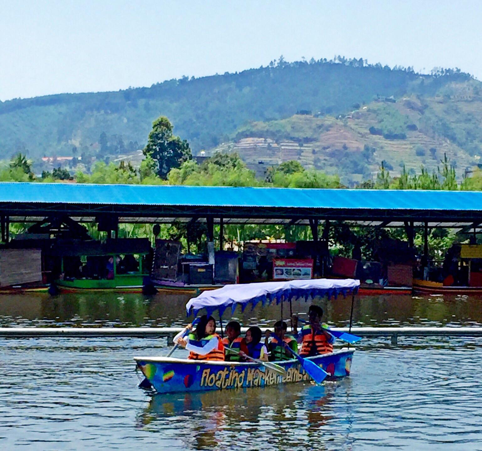 Floating Market Lembang Bandung Trip Moment Pinterest Pasar Apung Kab