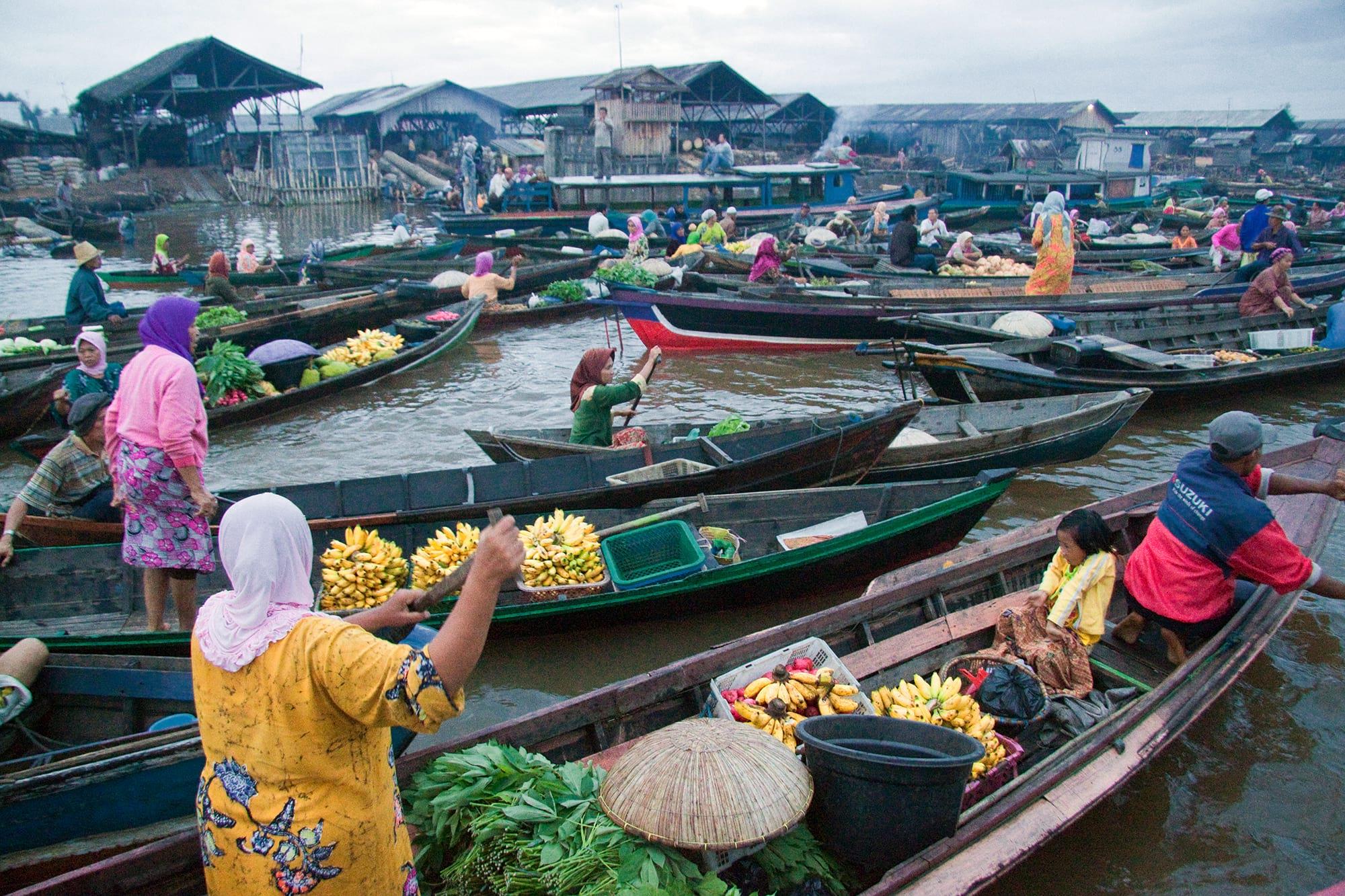 Floating Market Lembang Bandung Wisata Kuliner Asik Pasar Apung Indonesia