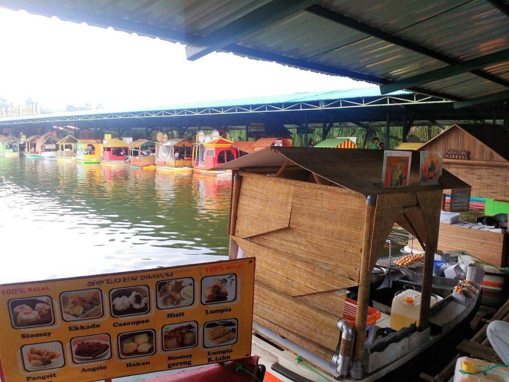 Floating Market Lembang Boats Pasar Apung Kab Bandung