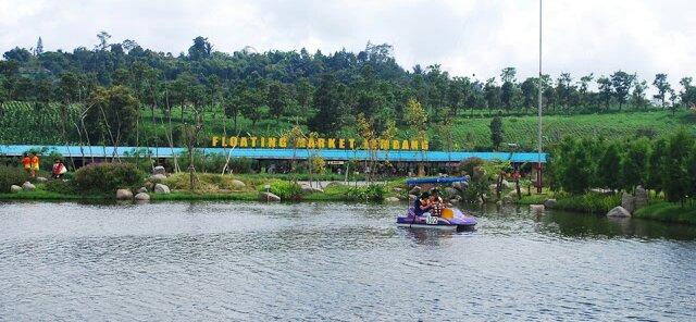 Floating Market Lembang Pasar Terapung Konsep Rekreasi 33 Kabupaten Bandung