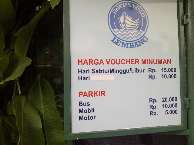 Floating Market Lembang Tempat Wisata Seru Bandung Harga Tiket Masuk