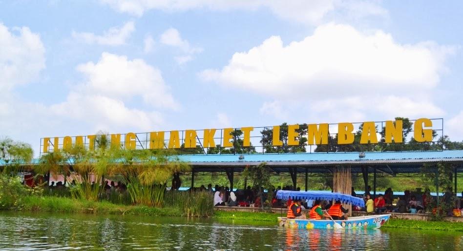 Jejak Pena Pemula Pasar Apung Lembang Floating Market Ya Menurut