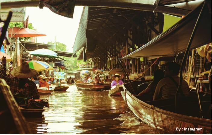 Lokasi Harga Tiket Fasilitas Wisata Floating Market Lembang Pasar Apung