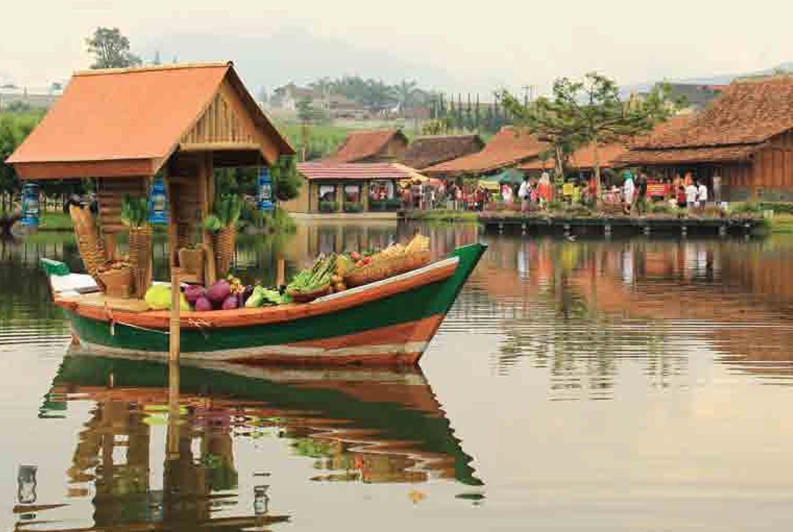 Paket Wisata Floating Market Lembang Keren Youtube Pasar Apung Kab