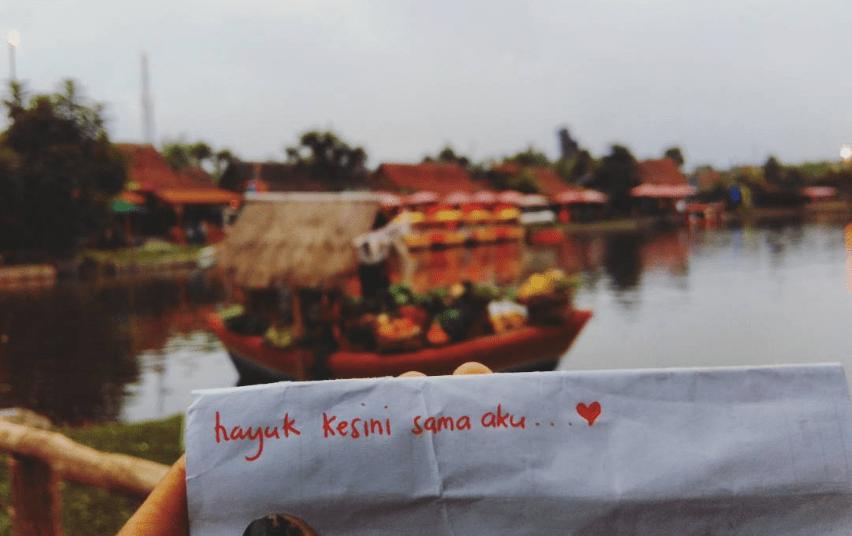 Pasar Apung Lembang Tempat Rekreasi Konsep Kota Mini Kab Bandung