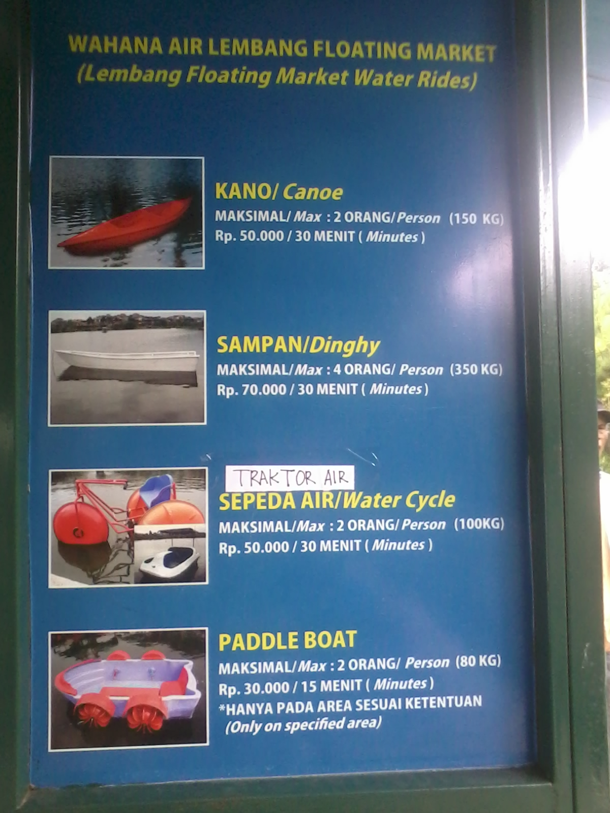 Pengalaman Wisata Floating Market Lembang Bandung Kumpulan 11 Pasar Apung