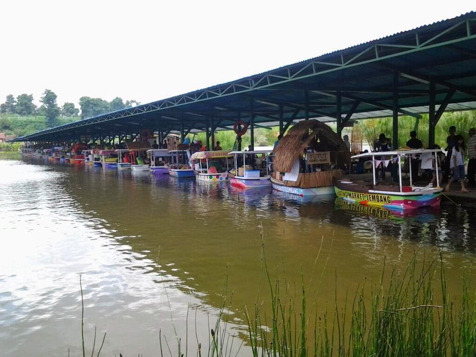 Wisata Lembang Bandung Floating Market Outbound Pasar Apung Kab