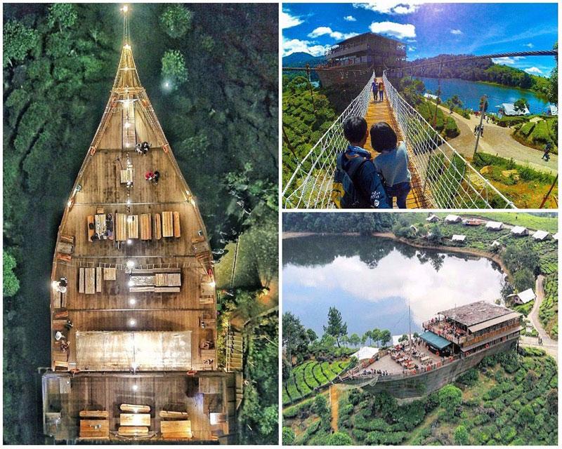 58 Tempat Wisata Bandung Hits Kekinian Liburan Kapal Pinisi Resto