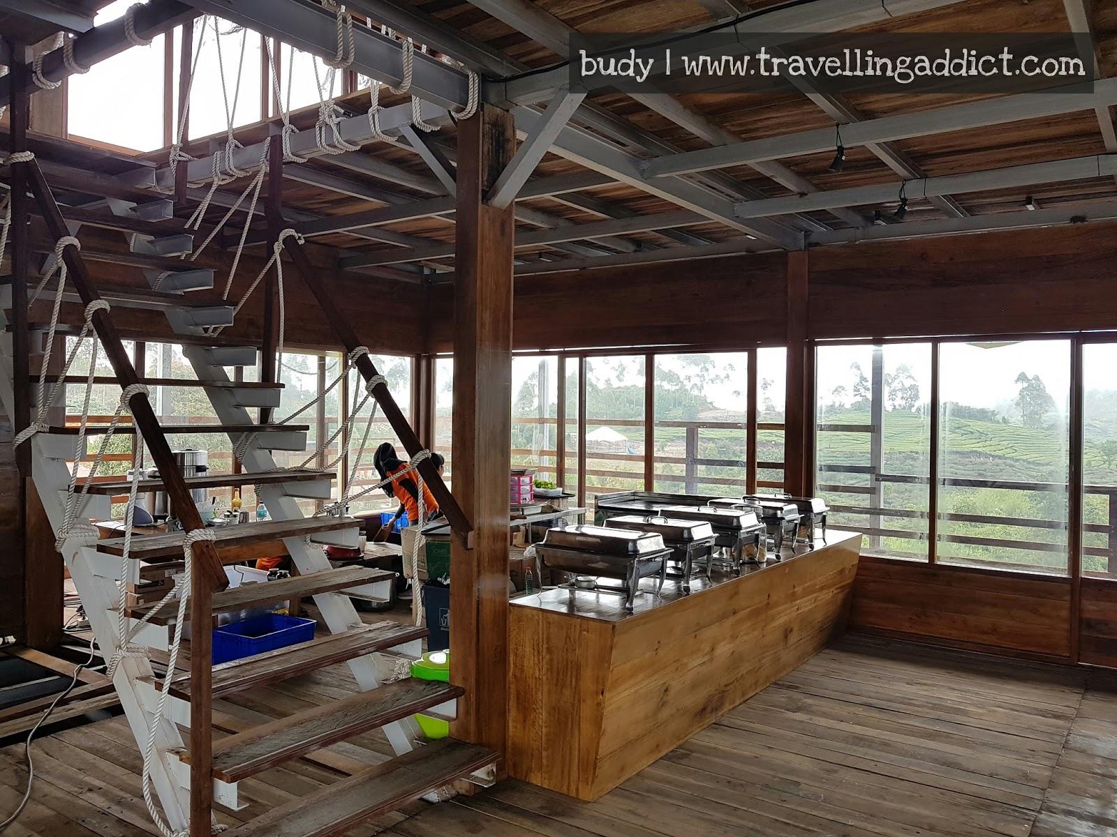 Bahtera Resto Tempat Makan Berkonsep Kapal Layar Rancabali Tapi Pinisi