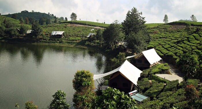 Glamping Lakeside Rancabali Bandung Tent Resort Wisata Ciwidey Pinisi Resto