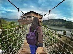 Pinisi Resto Glamping Lakeside Rancabali Bandung Jembatan Ciwidey Kab