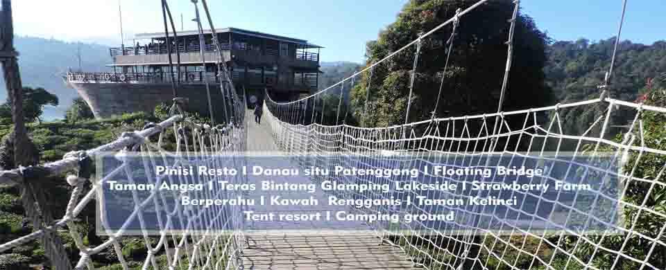 Pinisi Resto Glamping Lakeside Rancabali Ciwidey Lakesside Kab Bandung