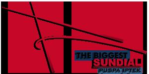Biggest Sundial Indonesia English Puspa Iptek Bandung Kab
