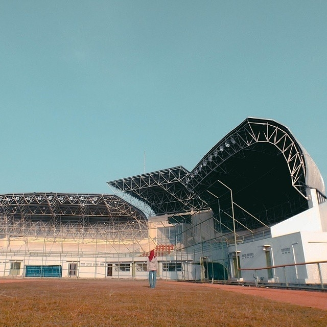 Shot Photographerbandung Rofif Stadion Arcamanik Bandung Photographer Puspa Iptek Sundial