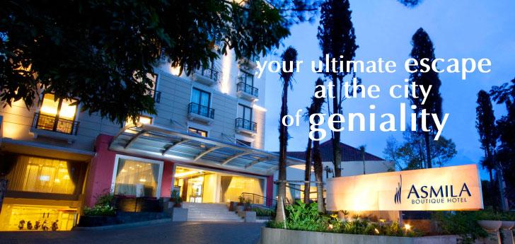 Asmila Boutique Hotel Bandung Rumah Mode Kab