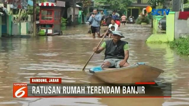 Banjir Kabupaten Bandung Rendam Rumah Warga Hingga 1 Meter News
