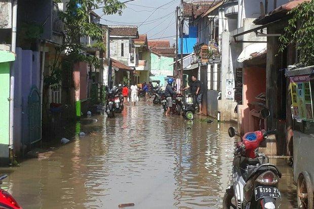 Rendam 1 058 Rumah Kabupaten Bandung Banjir Mode Kab