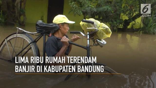 Video 5 000 Rumah Terendam Banjir Kabupaten Bandung Regional Liputan6