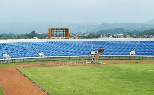 Cantiknya Stadion Jalak Harupat Soreang Bandung Noniq Berlokasi Desa Kopo