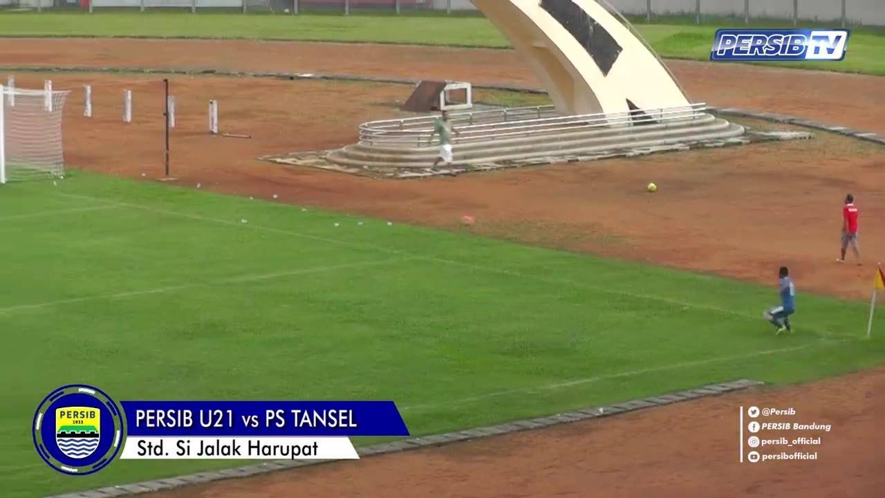 Cuplikan Gol Laga Ujicoba Persib 21 Ps Tansel Stadion Jalak