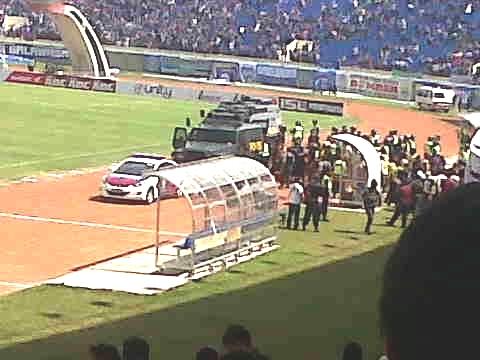 Foto Pertandingan Persib Bandung Persija Jakarta Std Jalak Kedatangan Tim