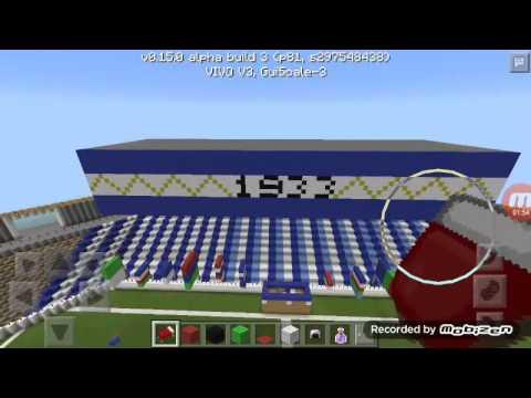 Minecraft Stadion Jalak Harupat Bandung Youtube Kab