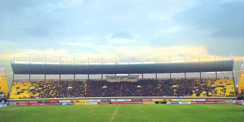 Persib Kembali Stadion Jalak Harupat Juara Bolasport Suasana Soreang Bandung