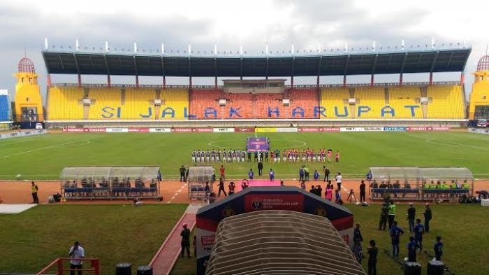 Persib Mengalah Tidak Pakai Jalak Harupat Tribunnews Stadion Kab Bandung
