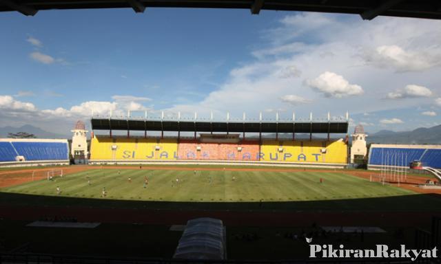 Persib Persegres Gresik Kembali Digelar Stadion Jalak Harupat Usep Usman