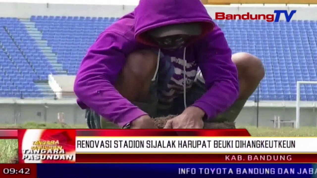 Renovasi Stadion Jalak Harupat Beuki Dihangkeutkeun Tp Bandung Tv Kab