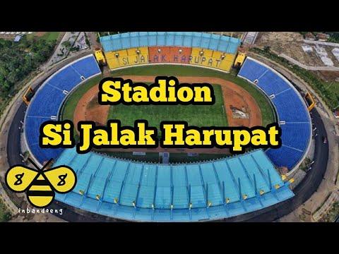Stadion Jalak Harupat Bangunan Bandung Youtube Kab