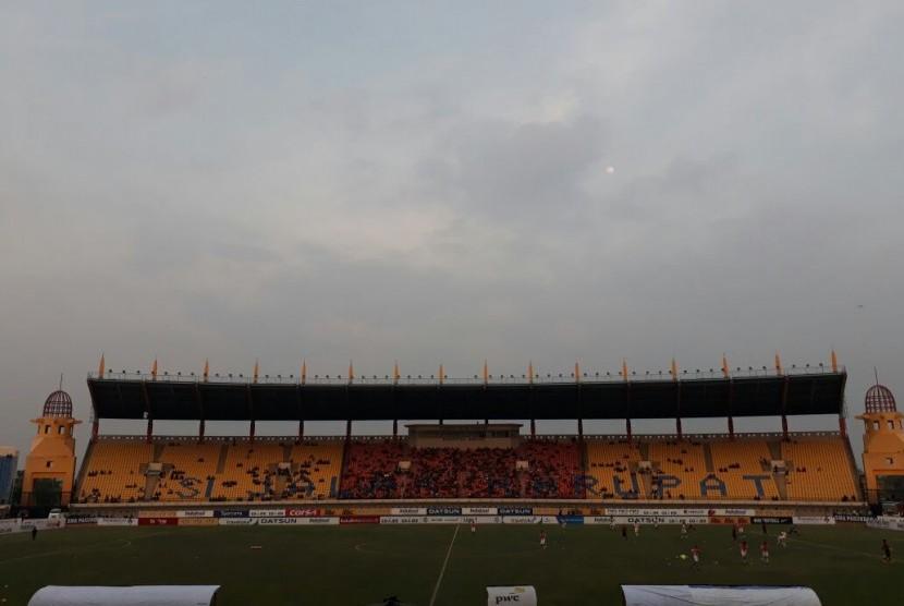 Stadion Jalak Harupat Siap Asian Games 2018 Republika Online Suasana