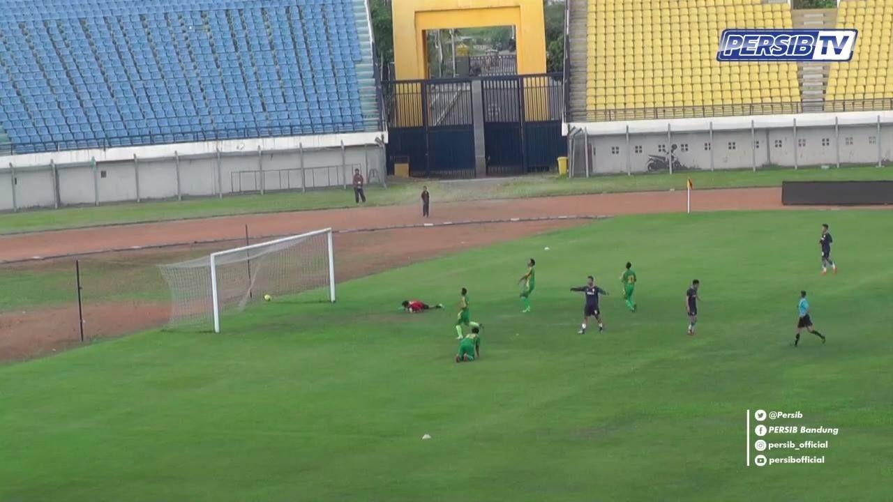 Uji Tanding Persib 19 Tim Porda Kabupaten Bandung Stadion Jalak